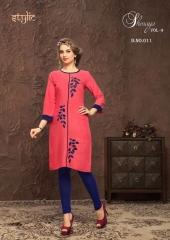 Stylic Shenaya Vol 9 Rayon Casual Wear Kurti Catalog BY GOSIYA EXPORTS SURAT (7)