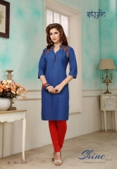 STYLIC SHINE VOL 2 DENIM KURTI WHOLESALE RATE AT GOSIYA EXPORTS SURAT WHOLESALE SUPPLAYER AND DEALER SURAT GUJARAT (4)
