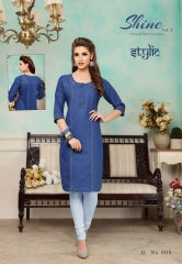 STYLIC SHINE VOL 2 DENIM KURTI WHOLESALE RATE AT GOSIYA EXPORTS SURAT WHOLESALE SUPPLAYER AND DEALER SURAT GUJARAT (8)