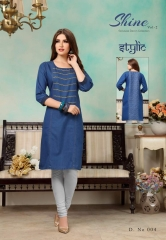 STYLIC SHINE VOL 2 DENIM KURTI WHOLESALE RATE AT GOSIYA EXPORTS SURAT WHOLESALE SUPPLAYER AND DEALER SURAT GUJARAT (9)