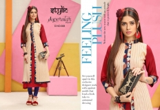 STYLIC SUPERSTAR VOL 1 KURTI WITH JACKET (1)
