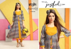 STYLIC SUPERSTAR VOL 1 KURTI WITH JACKET (10)