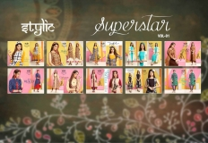 STYLIC SUPERSTAR VOL 1 KURTI WITH JACKET (3)