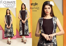 STYLIC SUPERSTAR VOL 1 KURTI WITH JACKET (4)
