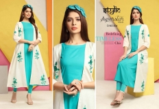 STYLIC SUPERSTAR VOL 1 KURTI WITH JACKET (6)