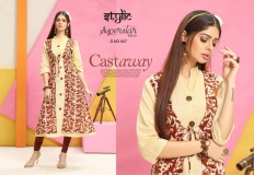 STYLIC SUPERSTAR VOL 1 KURTI WITH JACKET (7)
