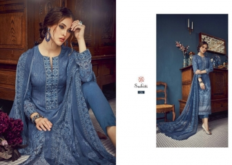 SUDRITI IKARIA COTTON SATIN PRINTED SALWAR SUITS TS S (2)