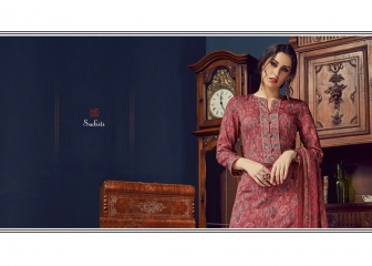 SUDRITI IKARIA COTTON SATIN PRINTED SALWAR SUITS TS S (6)