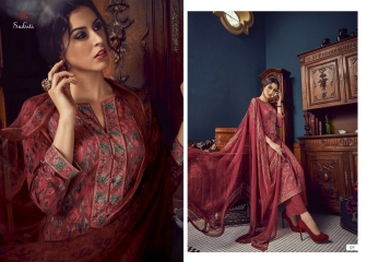 SUDRITI IKARIA COTTON SATIN PRINTED SALWAR SUITS TS S (7)