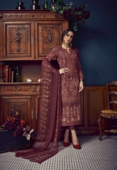 SUDRITI IKARIA COTTON SATIN PRINTED SALWAR SUITS TS
