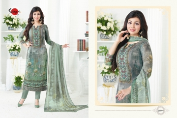 SUHATI FAB SILKY VOL 2 GEORGETTE STRAIGHT SUITS WHOLESALE BEST RATE SURAT BY GOSIYA EXPORTS (3)