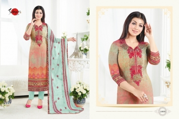 SUHATI FAB SILKY VOL 2 GEORGETTE STRAIGHT SUITS WHOLESALE BEST RATE SURAT BY GOSIYA EXPORTS (7)