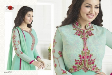 SUHATI FAB SUHATI VOL 7 GEORGETTE EMBROIDERY SUITS WHOLESALE BEST RATE BY GOSIYA EXPORTS SURAT (5)