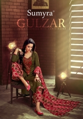 SUMYRA Gulzar Pashmina fabric Gulzar WHOLESALE BY GOSIYA EXPORTS SURAT