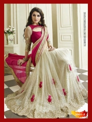 SUNNY LEONE DESIGNER EMBROIDERED SAREES WHOLESALE BEST RATE SURAT BY SUNNY LEONE (1)