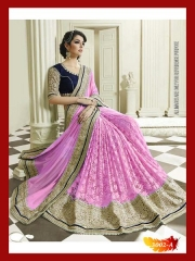 SUNNY LEONE DESIGNER EMBROIDERED SAREES WHOLESALE BEST RATE SURAT BY SUNNY LEONE (10)