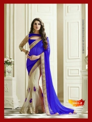 SUNNY LEONE DESIGNER EMBROIDERED SAREES WHOLESALE BEST RATE SURAT BY SUNNY LEONE (2)