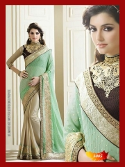 SUNNY LEONE DESIGNER EMBROIDERED SAREES WHOLESALE BEST RATE SURAT BY SUNNY LEONE (3)