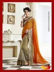 SUNNY LEONE DESIGNER EMBROIDERED SAREES WHOLESALE BEST RATE SURAT BY SUNNY LEONE (5)