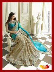 SUNNY LEONE DESIGNER EMBROIDERED SAREES WHOLESALE BEST RATE SURAT BY SUNNY LEONE (6)