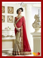 SUNNY LEONE DESIGNER EMBROIDERED SAREES WHOLESALE BEST RATE SURAT BY SUNNY LEONE (7)