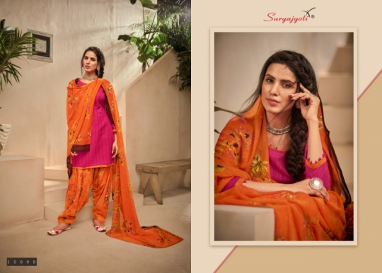 SURYAJYOTI PRESENTS PANEREE PATIALA VOL 15 CAMBRIC DOBBY FABRIC WITH PRINT SALWAR SUIT WHOLESALE DEALER BEST RATE BY GOSIY (1)