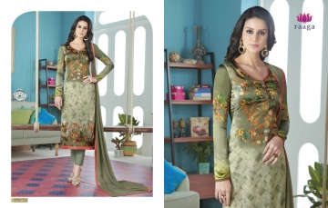 SWAGAT MARIGOLD SATIN PRINTS WITH (13)