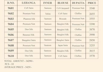 SWAGAT RANG RASIYA 9600 FANCY DESIGNER LEHENGA CATALOG IN WHOLESALE BEST RATE BY GOSIYTA EXPORTS (3)