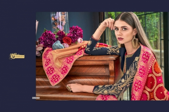 SWAGAT VIOLET 6201-6214 SERIES SILK INDIAN FESTIVE DRESSES COLLECTION 2019 WHOLESALE DEALER BEST RATE BY GOSIYA EXPORTS SURAT (21)