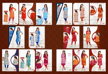 SWARNPANKH ANGEL RAYON PRINTED DESIGNER KURTIS CATALOG WHOLESALE RATE (16)