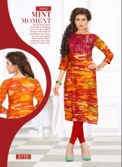SWARNPANKH ANGEL RAYON PRINTED DESIGNER KURTIS CATALOG WHOLESALE RATE (8)