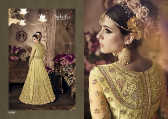 SYBELLA SERIES S 101TO S108 DESIGNER ANARKALI DRESS CATALOG WHOLESALE BEST RATE BY GOSIYA EXPORTS (11)