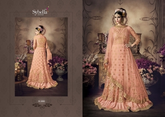 SYBELLA SERIES S 101TO S108 DESIGNER ANARKALI DRESS CATALOG WHOLESALE BEST RATE BY GOSIYA EXPORTS (2)