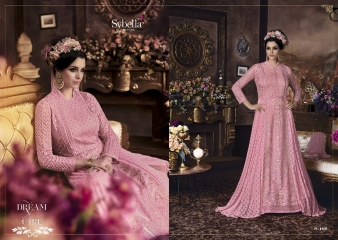 SYBELLA SERIES S 101TO S108 DESIGNER ANARKALI DRESS CATALOG WHOLESALE BEST RATE BY GOSIYA EXPORTS (3)