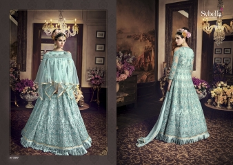 SYBELLA SERIES S 101TO S108 DESIGNER ANARKALI DRESS CATALOG WHOLESALE BEST RATE BY GOSIYA EXPORTS (6)