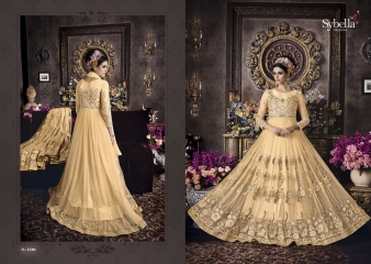 SYBELLA SERIES S 101TO S108 DESIGNER ANARKALI DRESS CATALOG WHOLESALE BEST RATE BY GOSIYA EXPORTS (7)
