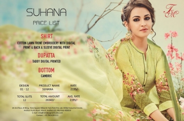 T and M suhana casual wear cotton lawn salwar kameez collect BY GOSIYA EXPORTS (9)