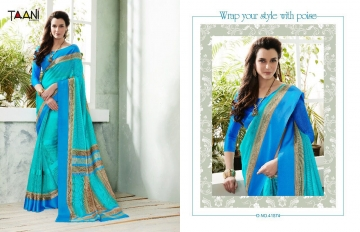 TAANI COTTON COUNTY COTTON SAREES COLLECTION WHOLESALE RATE SELLER BEST RATE BY GOSIYA EXPORTS SURAT (10)