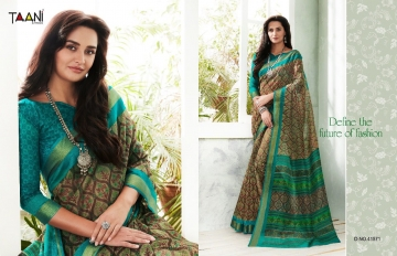 TAANI COTTON COUNTY COTTON SAREES COLLECTION WHOLESALE RATE SELLER BEST RATE BY GOSIYA EXPORTS SURAT (8)