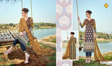 TANISHK FASHION SAYRA VOL 3 LAWN CAMBRIC PRINT SUITS WHOLESALE BY GOSIYA EXPORTS (7)