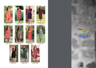 TANUZA FASHION ETHNIC VOL 4 PURE COTTON KURTI CATALOG BEST RATE WHOLESALE GOSIYA EXPORTS SURAT SURAT (11)