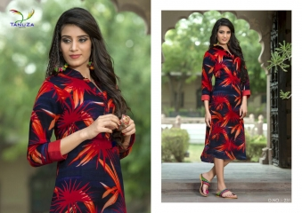 TANUZA PURE COTTON PARTY WEAR KURTIS COLLECTION WHOLESALE SUPPLIER BEST RATE BY GOSIYA EXPORTS SURAT (10)