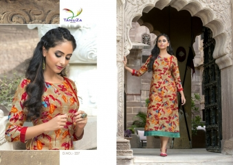 TANUZA PURE COTTON PARTY WEAR KURTIS COLLECTION WHOLESALE SUPPLIER BEST RATE BY GOSIYA EXPORTS SURAT (11)