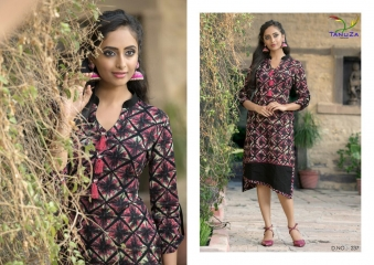TANUZA PURE COTTON PARTY WEAR KURTIS COLLECTION WHOLESALE SUPPLIER BEST RATE BY GOSIYA EXPORTS SURAT (12)