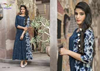 TANUZA PURE COTTON PARTY WEAR KURTIS COLLECTION WHOLESALE SUPPLIER BEST RATE BY GOSIYA EXPORTS SURAT (13)