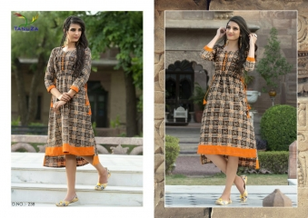 TANUZA PURE COTTON PARTY WEAR KURTIS COLLECTION WHOLESALE SUPPLIER BEST RATE BY GOSIYA EXPORTS SURAT (14)