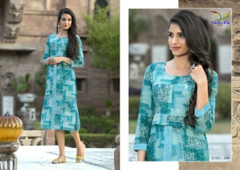 TANUZA PURE COTTON PARTY WEAR KURTIS COLLECTION WHOLESALE SUPPLIER BEST RATE BY GOSIYA EXPORTS SURAT (2)