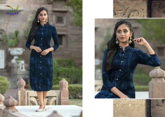 TANUZA PURE COTTON PARTY WEAR KURTIS COLLECTION WHOLESALE SUPPLIER BEST RATE BY GOSIYA EXPORTS SURAT (4)