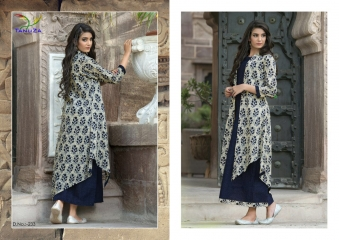 TANUZA PURE COTTON PARTY WEAR KURTIS COLLECTION WHOLESALE SUPPLIER BEST RATE BY GOSIYA EXPORTS SURAT (9)
