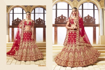 TARAH COLLECTION BY RIVAAJ VOL 2 PARTY WEAR WEDDING LEHENGA COLLECTION WHOLESALE BEST RATE BY GOSIYA EXPORTS (2)